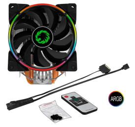 Cooler Gamemax Gamma 500 ARGB Rainbow Fan 120mm INTEL/AMD