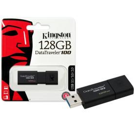 Pen Drive Kingston DT100G3/128GB 128GB USB 3.0