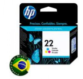 Cartucho HP 22 Colorido 6ML