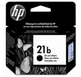 Cartucho HP 21B Preto 7ML