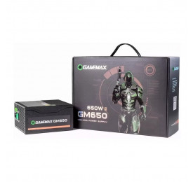 Fonte Gamemax GM650 650W 80 Plus Bronze