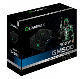Fonte Gamemax GM500 500W 80 Plus Bronze