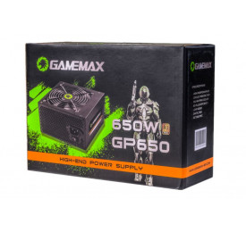 Fonte Gamemax GP650 650W 80 Plus Bronze