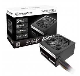 Fonte Thermaltake Smart 430W 80 Plus White PS-SPD-0430NPCWBZ-W