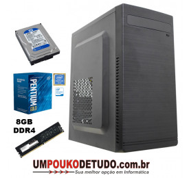 OR UPK INTEL PENTIUM G5400 3.7GHZ / 8GB DDR4 / HD