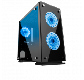 Gabinete Gamemax Gamer H605-TA LED Azul