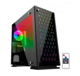 Gabinete Gamer Gamemax H605-TB 3x Fan RGB