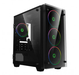 Gabinete Gamemax Gamer H609 Mini Stratos Vidro Temperado