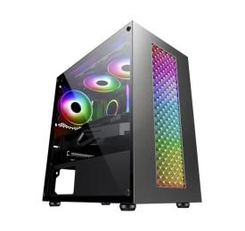 Gabinete Gamer K-MEX Bifrost III CG-01RU LED RGB