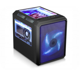 Gabinete K-MEX Gamer Microcraft CG-01RC