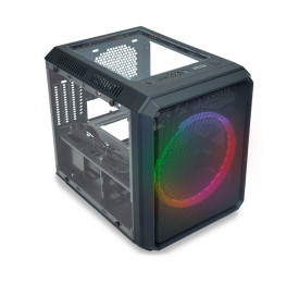 Gabinete K-MEX Gamer Microcraft V Multicolor CG-05RC