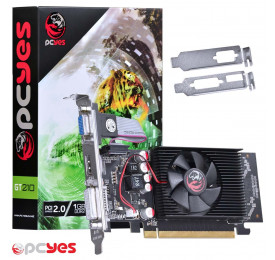 Placa de Video Geforce PCYES GT 210 1GB PPV210GT6401D2LP