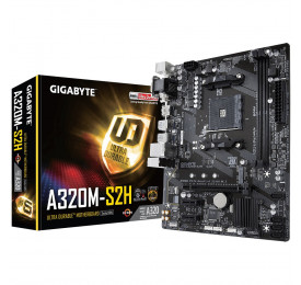 Placa Mãe GIGABYTE GA-A320M-S2H DDR4 USB 3.1 AM4