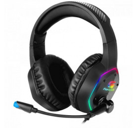 Headset Fortrek Gamer RGB Blackfire P2 + USB Preto