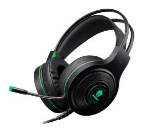 Headset Evolut Gamer Têmis EG301 P2 + USB Verde