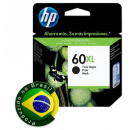 Cartucho HP 60XL Preto 13,5ML