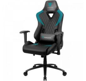 Cadeira Gamer THUNDERX3 DC3 Preta/Ciano