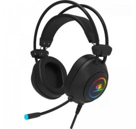 Headset FORTREK Gamer RGB Crusader Preto
