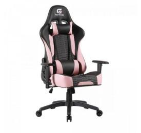 Cadeira Gamer FORTREK Cruiser Preta/Rosa até 135kg
