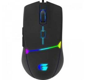 Mouse Fortrek Gamer CRUSADER RGB 7200DPI Preto