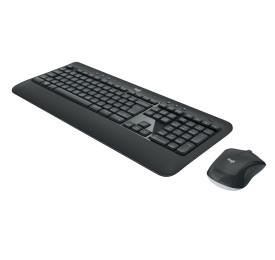 Teclado e Mouse Logitech Wireless MK540 Advanced USB