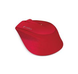 Mouse Logitech Sem Fio M280 Vermelho USB