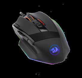 Mouse Gamer Redragon SniperM801 RGB 9 Botões 12400DPI