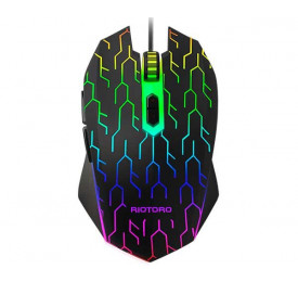Mouse Gamer Riotoro Uruz Z5 Lightning RGB MR-600L 4000DPI
