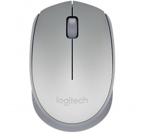 Mouse Logitech Wireless M170 Prata