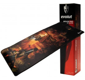Mouse Pad Gamer Evolut EG-402RD 700x300x2mm