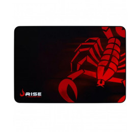 Mouse Pad Rise Mode Scorpion Red Grande Borda Costurada RG-MP-05-SR