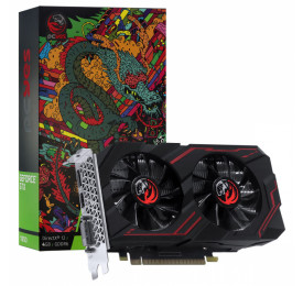 Placa de Video PCYES GTX 1650 Graffiti Series Dual Fan 4GB PA1650412820DR6