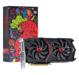 Placa de Video Radeon PCYES RX 570 4GB Graffiti Series PJ570RX256GD5