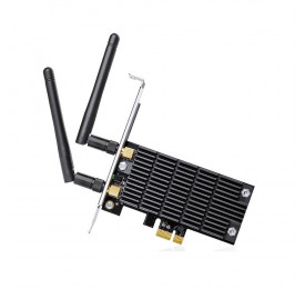 Placa de Rede Wireless TP-Link T6E Dual Band AC1300 Archer PCI Express