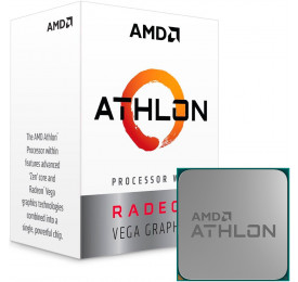 Processador AMD Athlon 220GE 3.4GHz YD220GC6FBBOX AM4