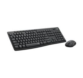 Teclado e Mouse Logitech Wireless MK295 Silent