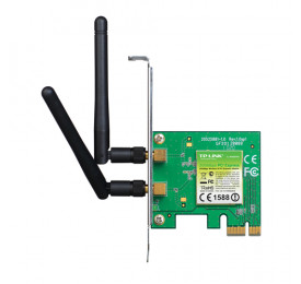 Placa de Rede Wireless TP-Link TL-WN881ND 300Mbps PCI-e