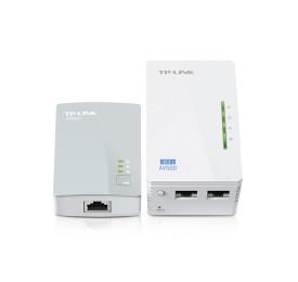Extensor de Alcance TP-Link Powerline WiFi e AV 500Mbps TL-WPA4220KIT