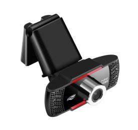 WebCam C3Tech WB-100BK FullHD 1080 1920x1080P C/ Microfone