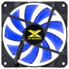 Cooler Gabinete VINIK VX Gaming V.LUMI 15 Pontos de LED Azul 120mm VLUMI15B