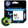 Cartucho HP 60 Colorido 6,5ML
