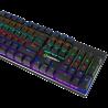 Teclado Gamemax Gamer Mecânico KG901 Switch Blue RGB